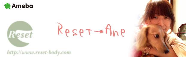 指圧整体院Reset 片岡典子のブログ Reset→Ane